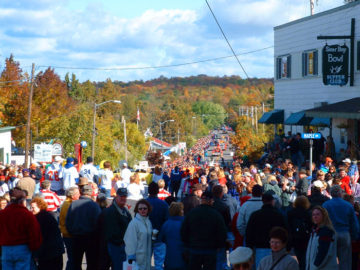 The crown jewel of Door County's festival season is Sister Bay's Fall Fest.